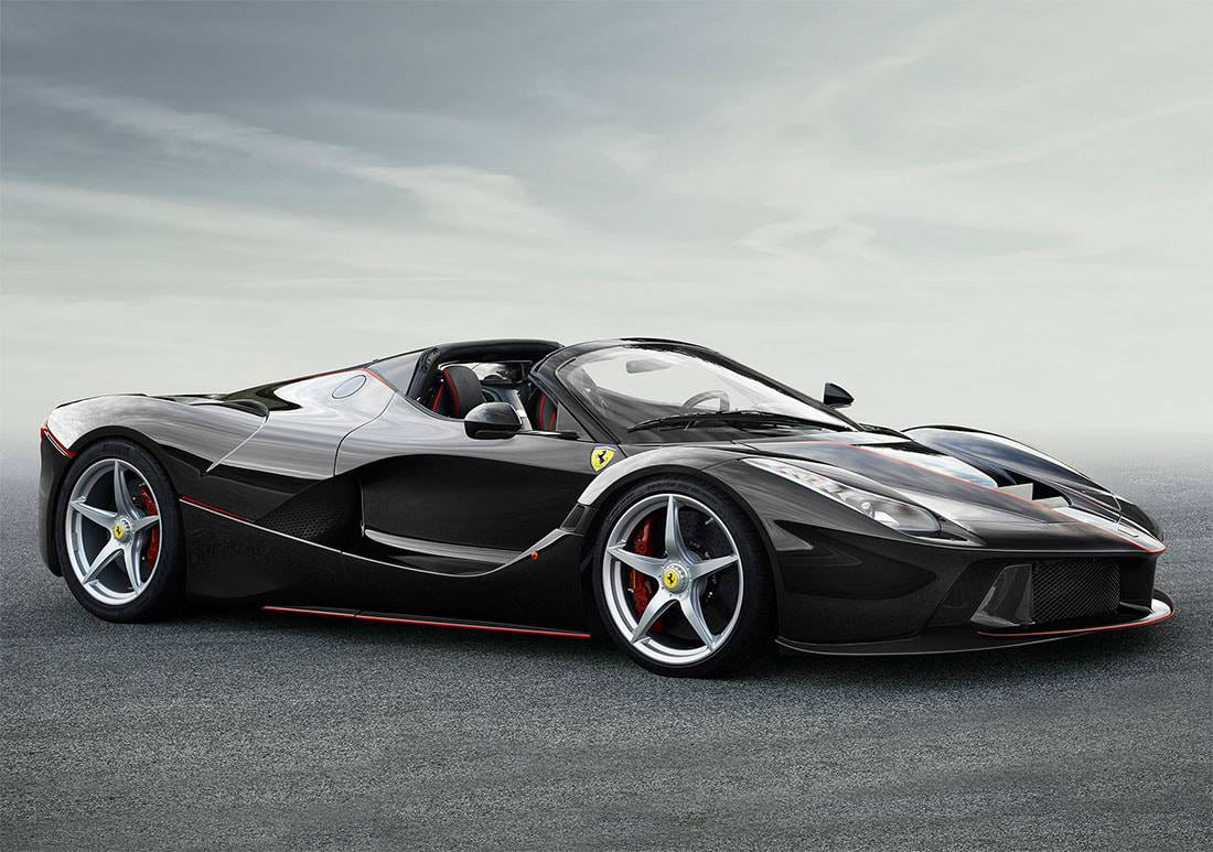 картинки Ferrari LaFerrari Spider 2016-2017 года