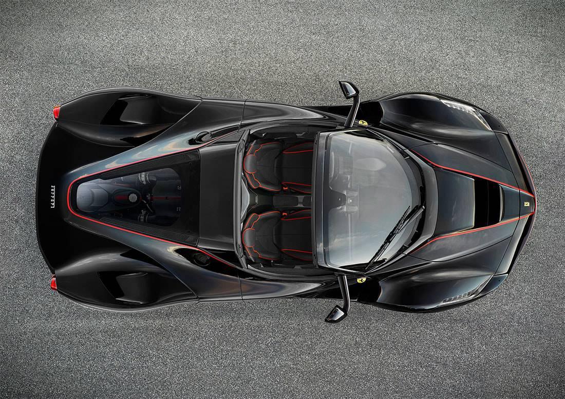 фотографии Ferrari LaFerrari Spider 2016-2017 года