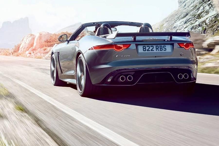 Фото Jaguar F-Type SVR 2016