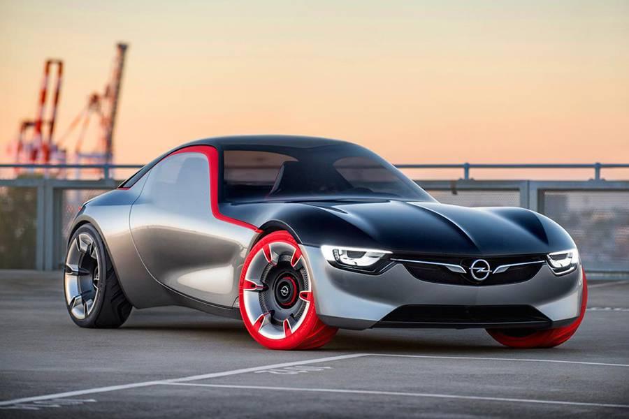 Фото Opel GT Concept 2016