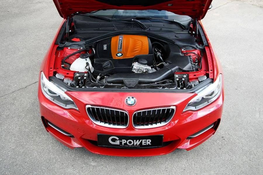 Фото двигателя BMW M235i от G-Power