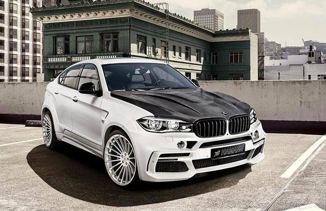 Фото BMW X6 M50d от тюнинг-ателье Hamann