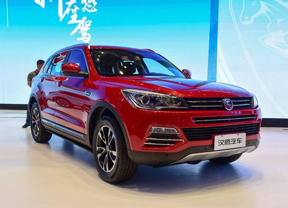 Ктайские авто 2016 года