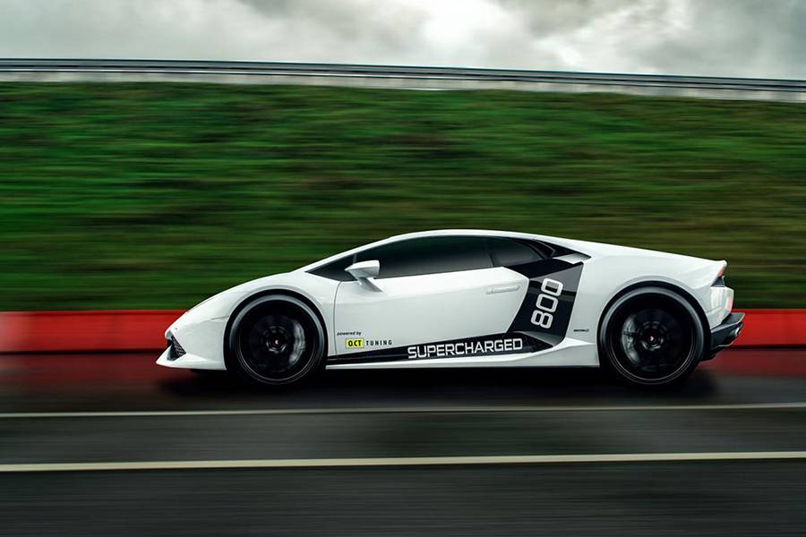 Фото Lamborghini Huracan от O.CT Tuning
