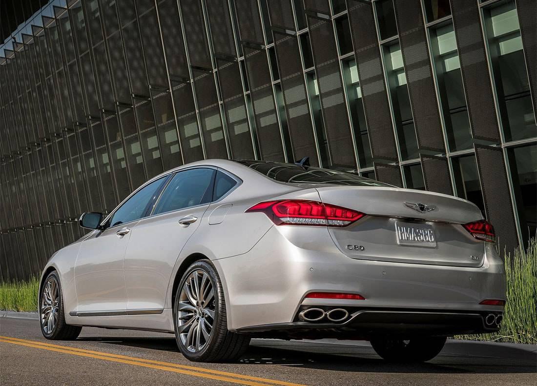 картинки Hyundai Genesis G80 2017-2018