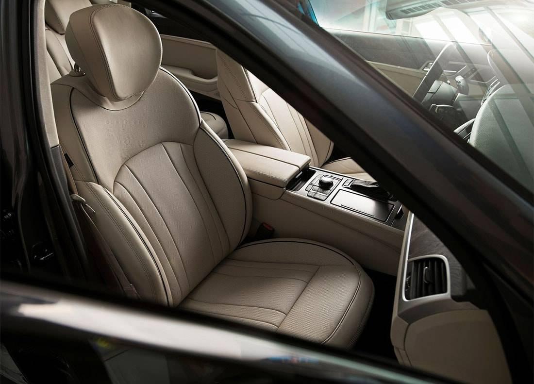 фото  интерьера Hyundai Genesis G80 2017-2018
