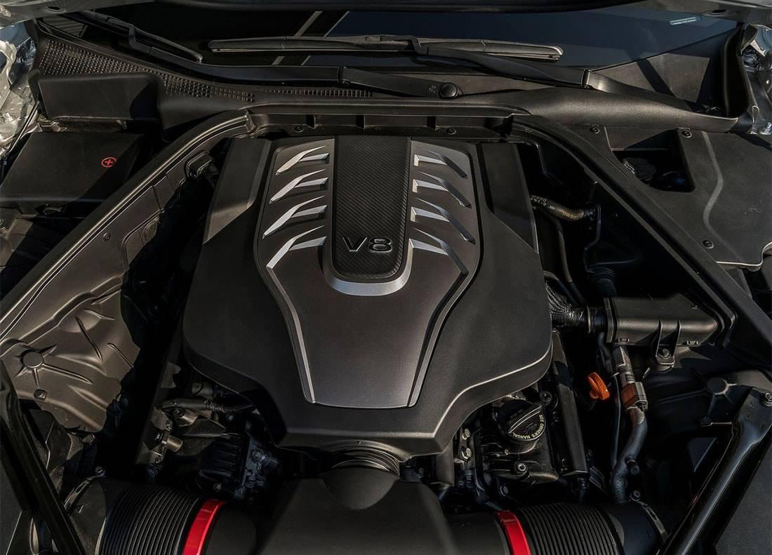 фото  двигателя Hyundai Genesis G80 2017-2018