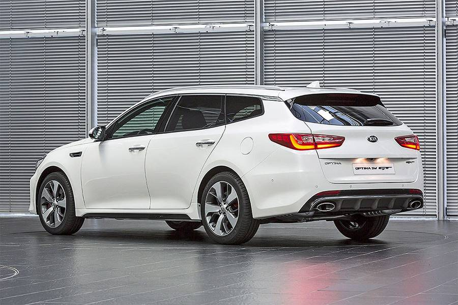 Kia Optima Sportswagon – универсал бизнес-класса - цена ...