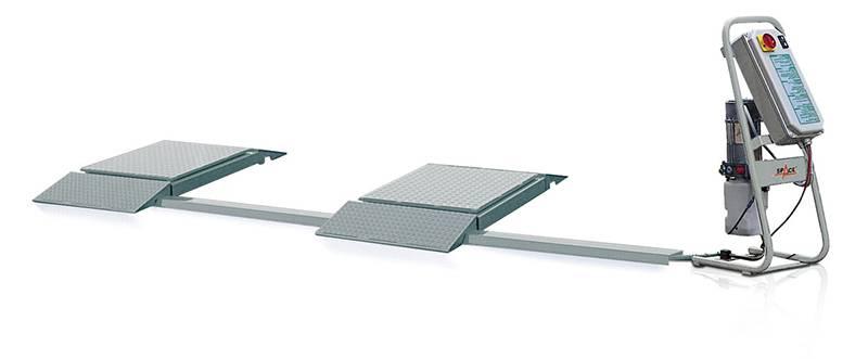 Люфт-детектор для проведения диагностики подвески автомобиля