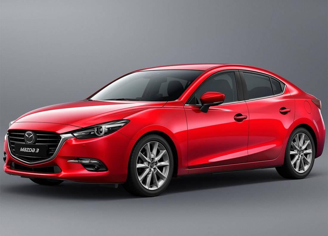 фото Mazda 3 седан 2017-2018 года