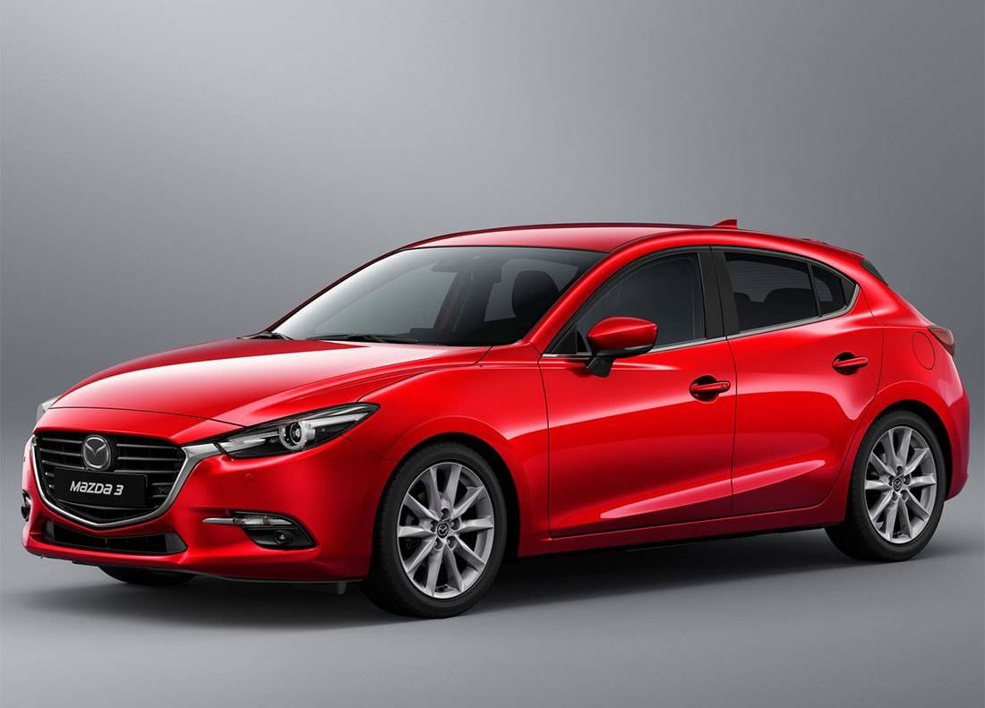 фото Mazda 3 хэтчбек 2017-2018 года