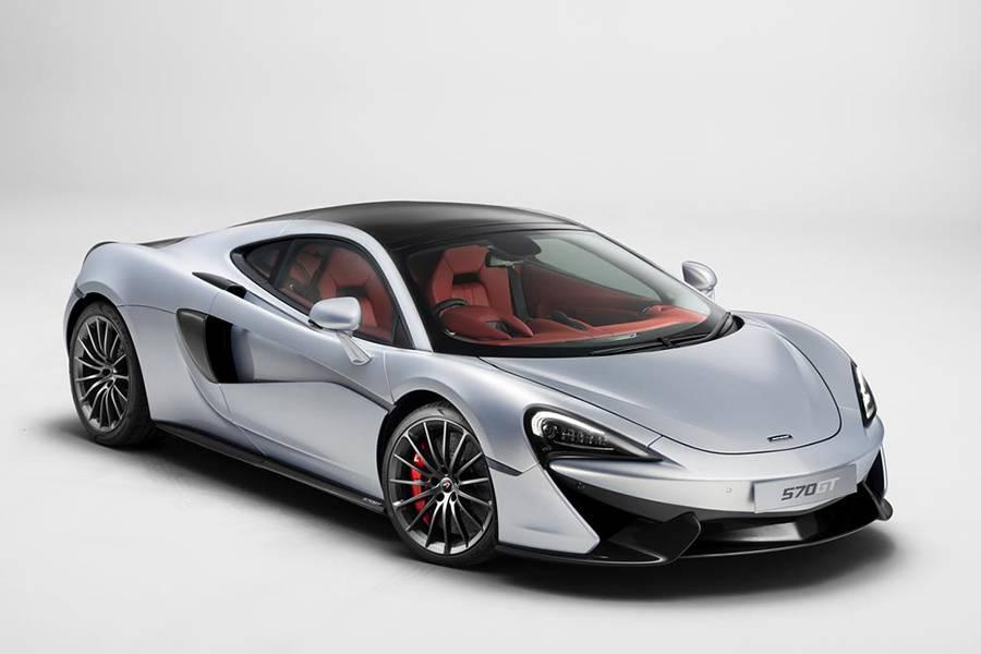 Купе McLaren 570GT 2016-2017 года - фото