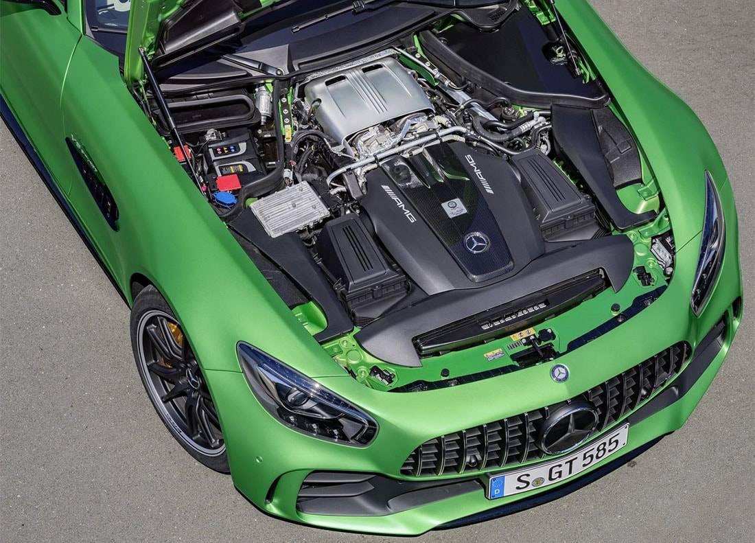 фото двигателя Mercedes-AMG GT R 2016-2017 года