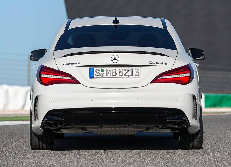 Фото Mercedes-AMG CLA45 4MATIC Shooting Brake