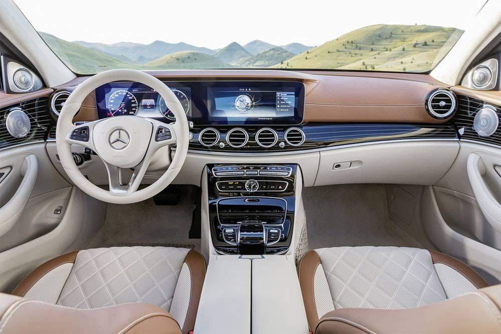 Фото салон Mercedes-Benz E-Class (W213) 2016-2017