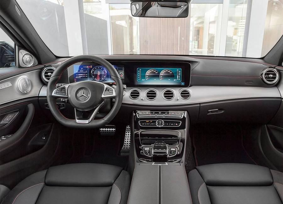 Фото салон Mercedes-AMG E 43 4Matic (W213) 2016-2017 года