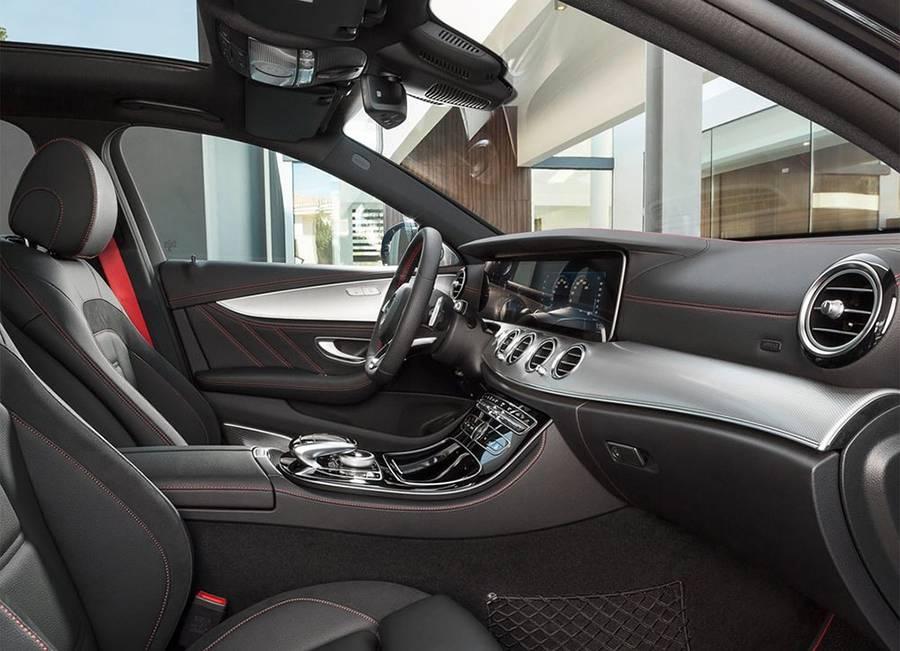 Фото интерьер Mercedes-AMG E 43 4Matic (W213) 2016-2017 года