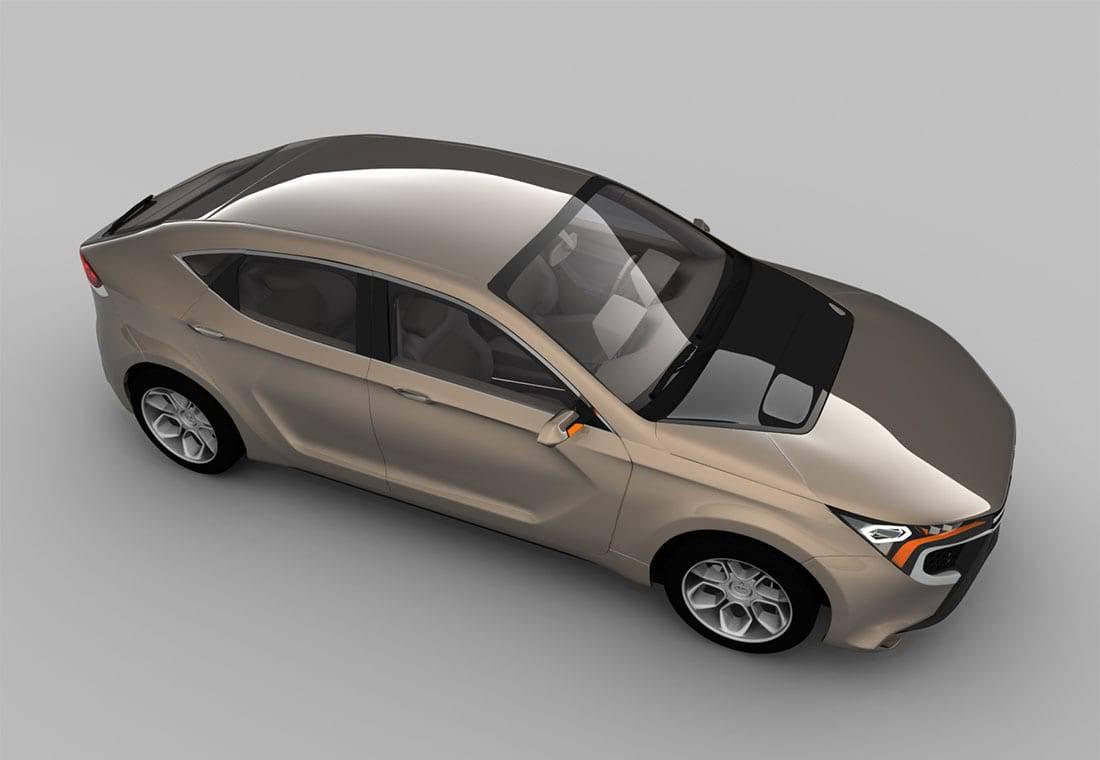 Фото Mitsubishi Komorebi Concept