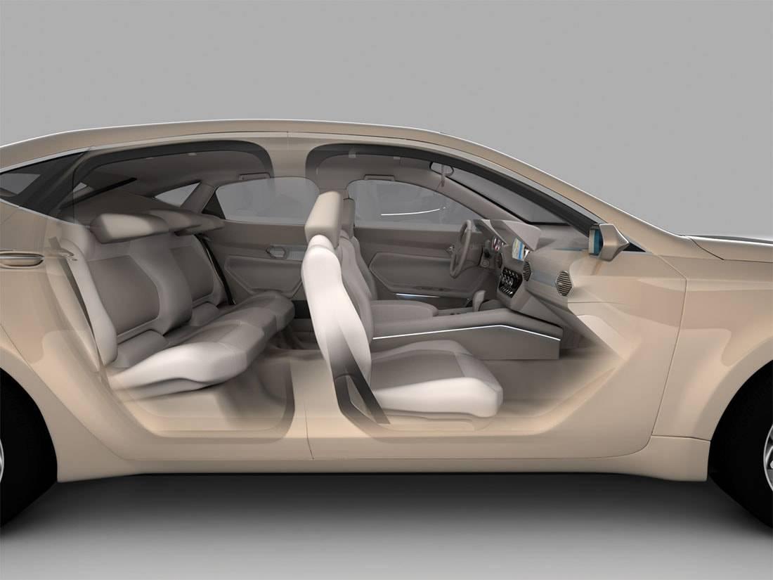 Фото салона Mitsubishi Komorebi Concept