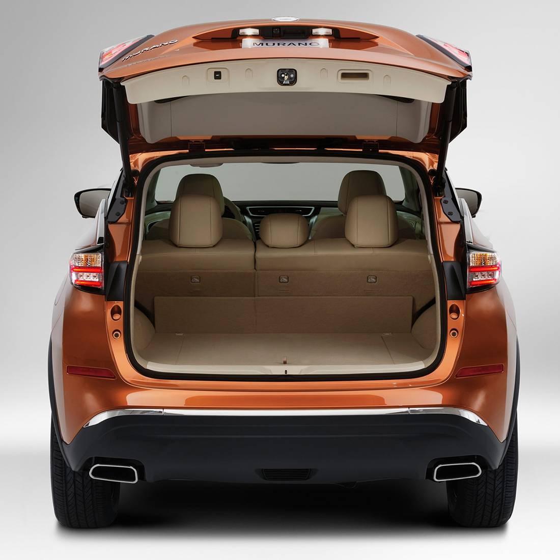 фото багажного отделения  Nissan Murano 2016