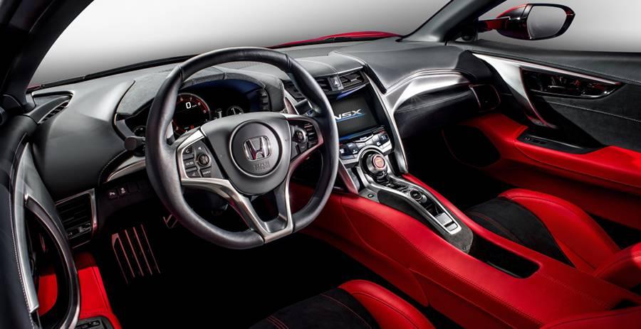 Фото салон New Honda NSX
