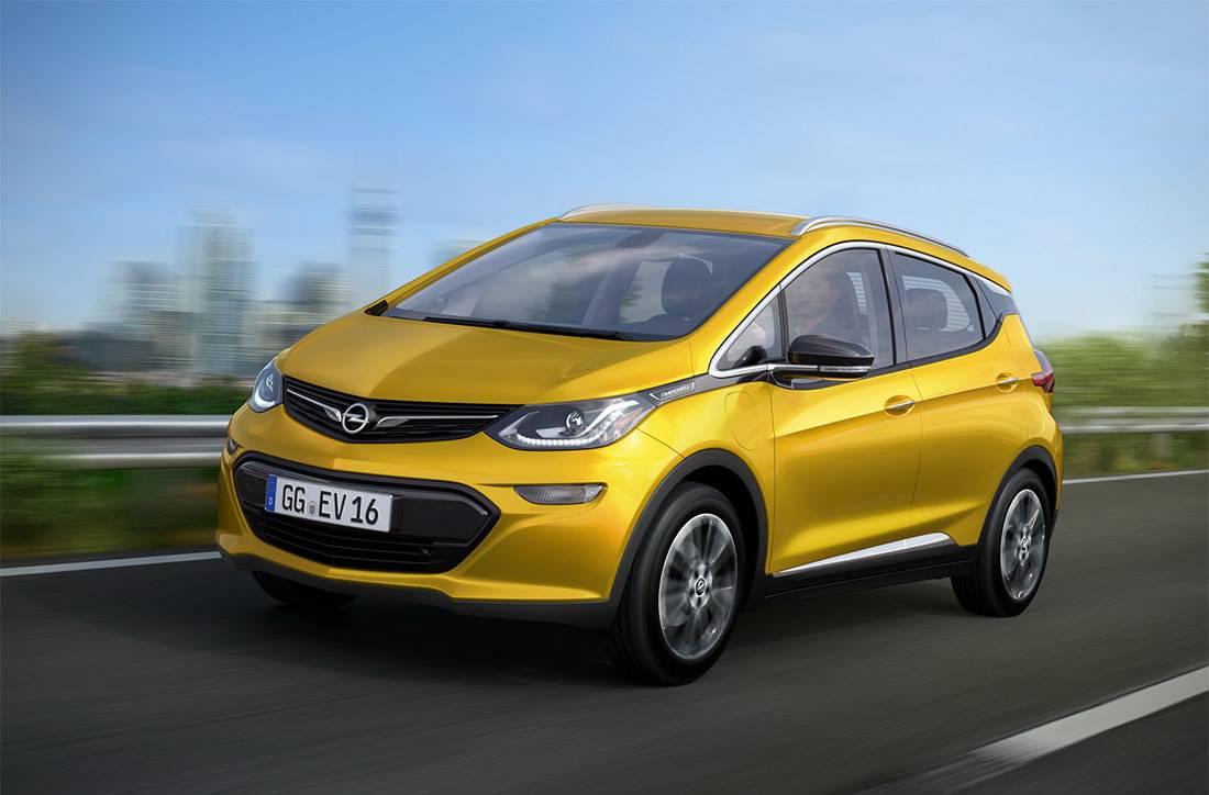 фото электро-кар Opel Ampera-e 2016 года