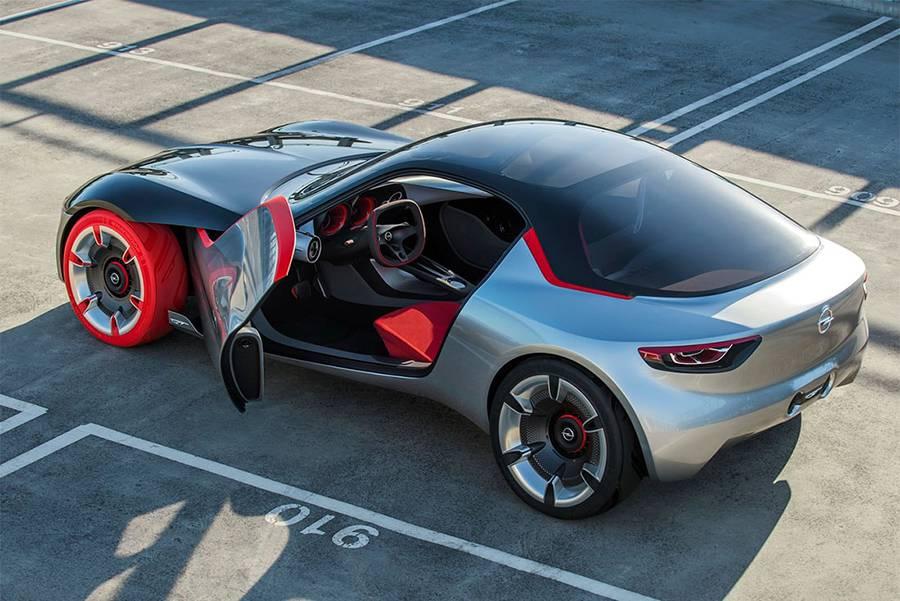 фото купе Opel GT Concept 2016 года