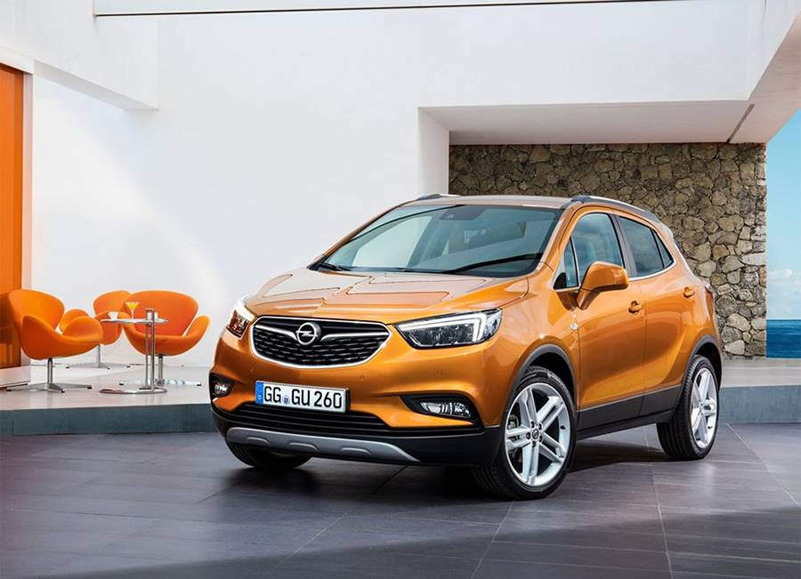 Фото Opel Mokka X 2016-2017