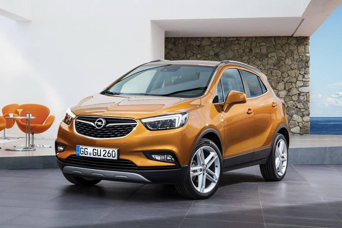 фото новый Opel Mokka X 2016 года