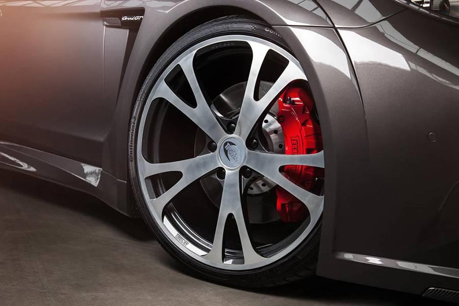 Фото Porsche Panamera GrandGT от ателье TechArt