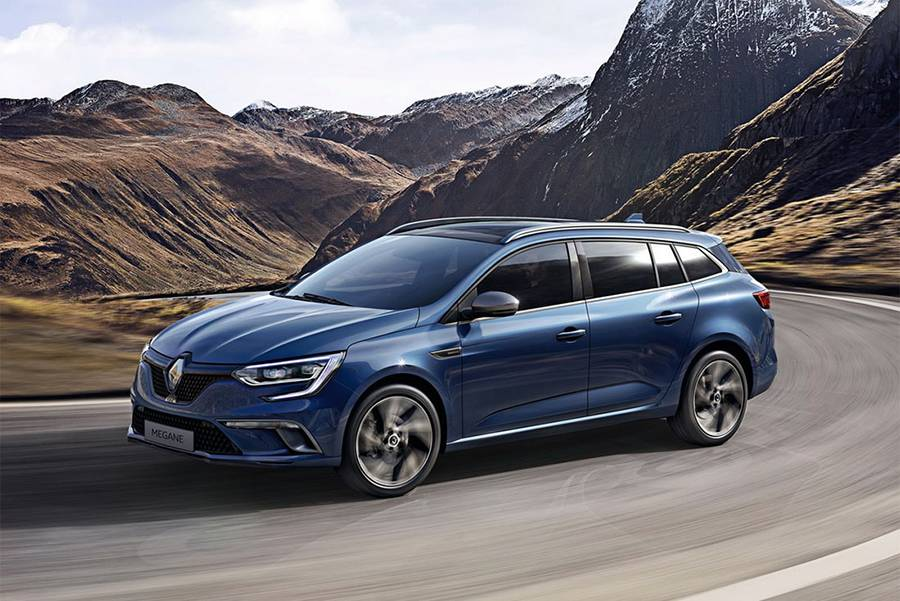 фото универсал Renault Megane Estate 2016 года