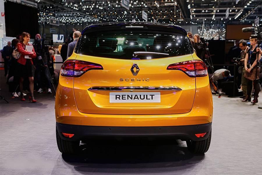 Фото минимвэн Renault Scenic 2016