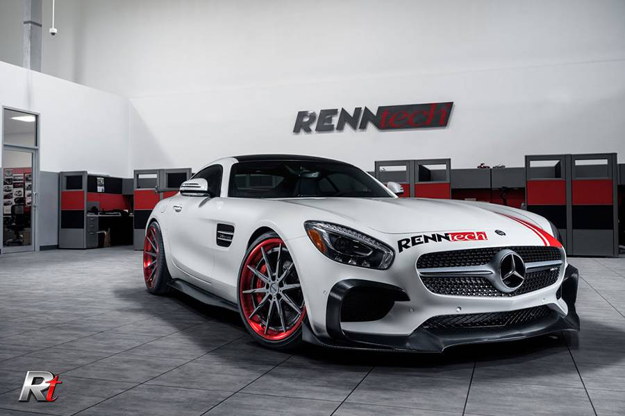 Фото Mercedes-AMG GT S от Renntech