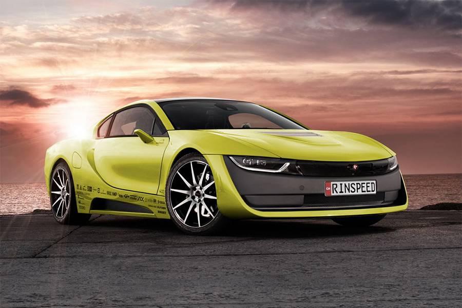 фото купе Rinspeed Etos Concept 2016 года