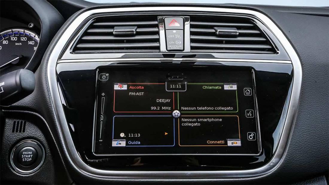 фото мультимедийной системы Suzuki SX4 2016-2017 года