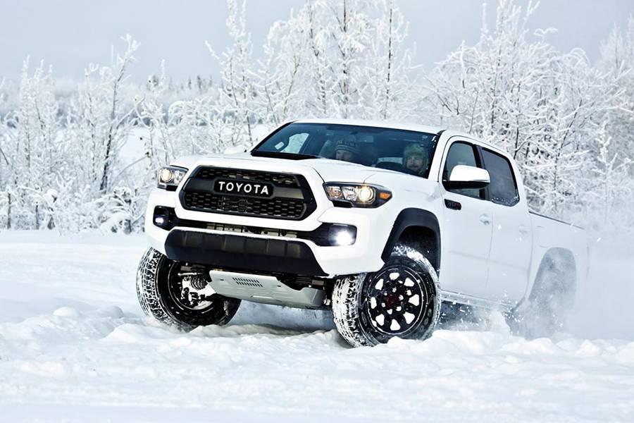 Внедорожный пикап Toyota Tacoma TRD Pro 2016-2017 - фото