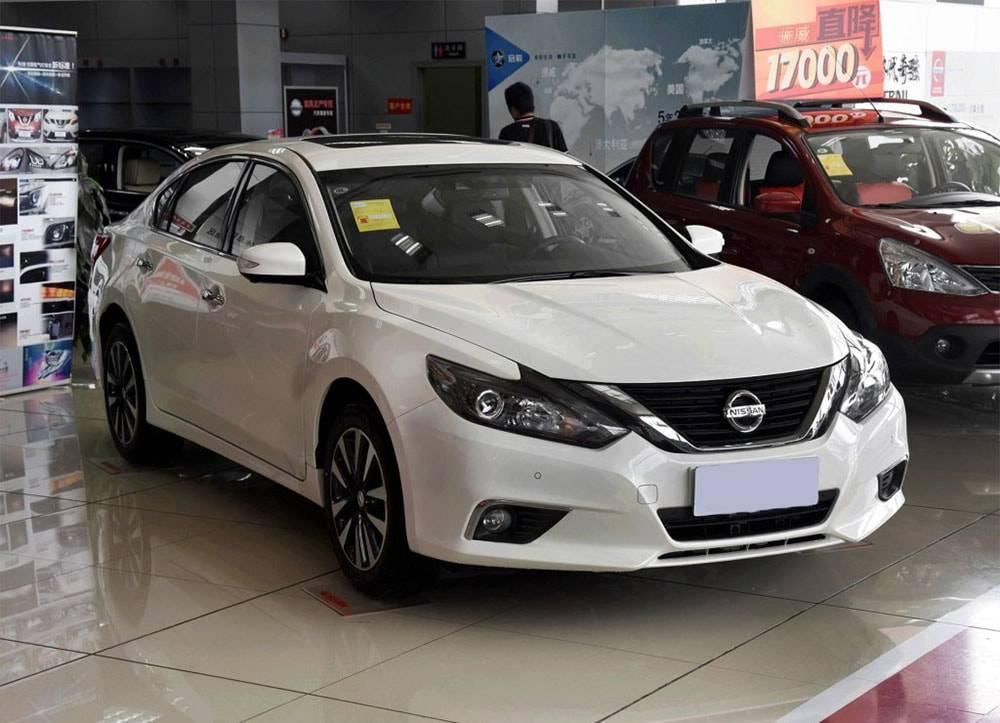 фото седана Nissan Teana 2016-2017 года