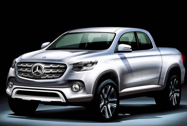 Тизер-пикапа-Mercedes-Benz