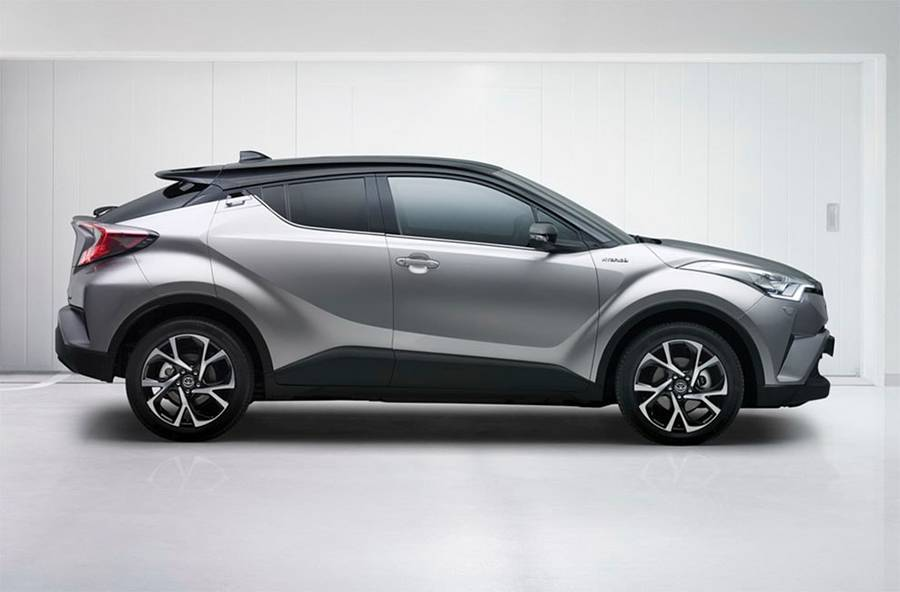 кроссовер Toyota C-HR 2016-2017 - фото
