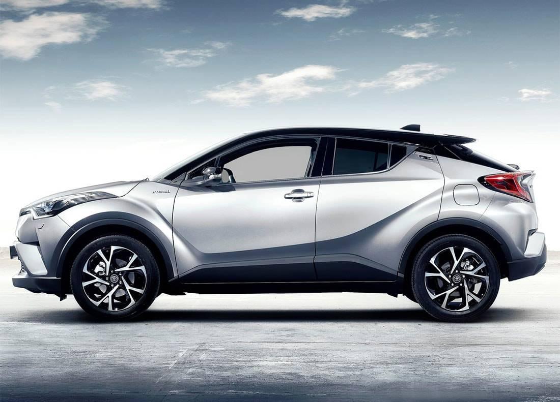 картинки норвого Toyota C-HR 2017-2018 года