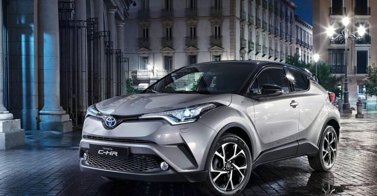 фото Toyota C-HR 2017-2018 года