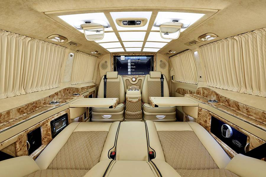 Фото Mercedes V-Class Black Crystal от ателье Larte Design