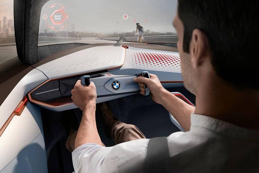 Фото салон BMW Vision Next 100
