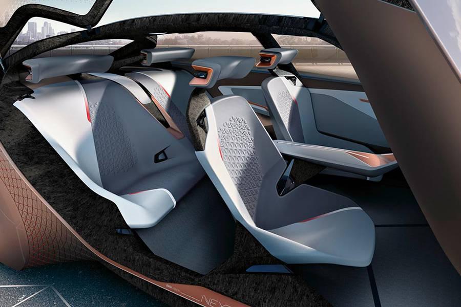 Фото интерьер BMW Vision Next 100