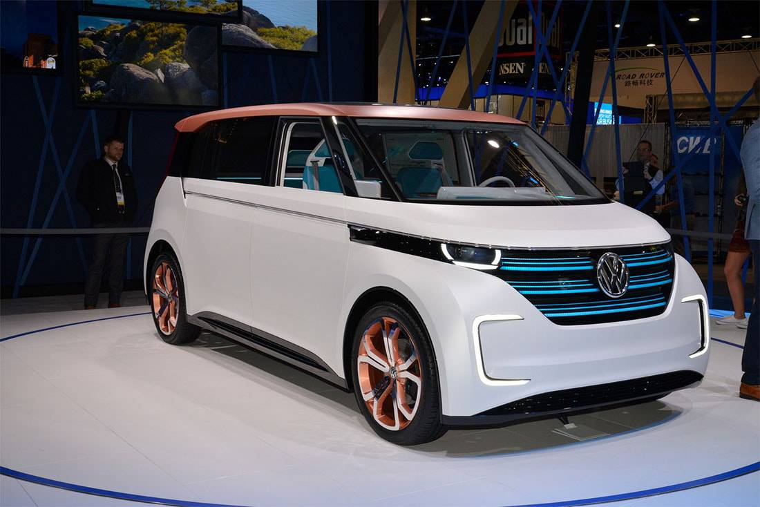 Фото Volkswagen Budd-e Concept 2016