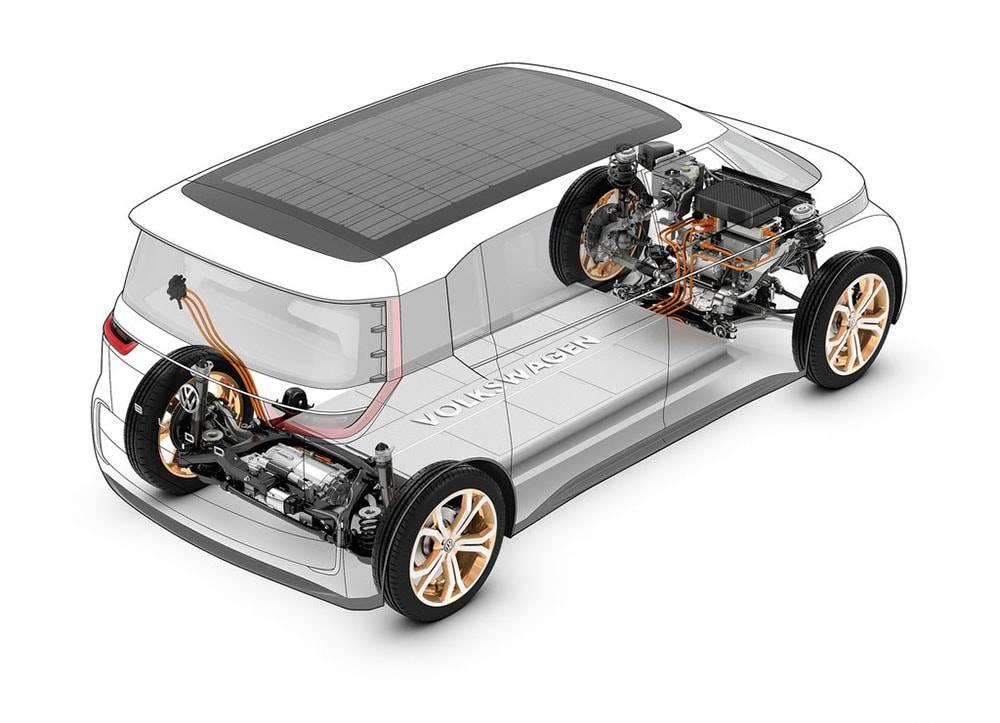 Фото техника Volkswagen Budd-e Concept 2016
