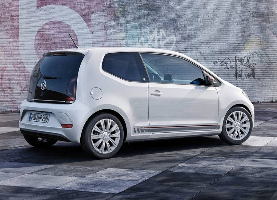 Фото сити-кара Volkswagen up 2016