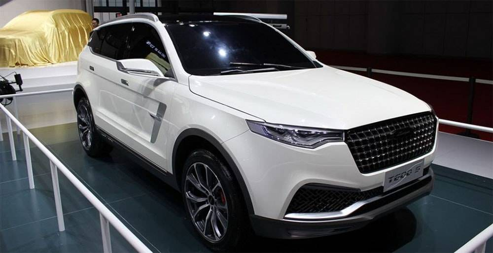 фото Zotye T600 S Coupe Concept