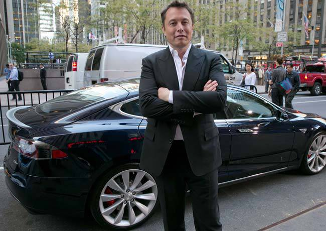 фото Илон Маск - основатель компании Тесла