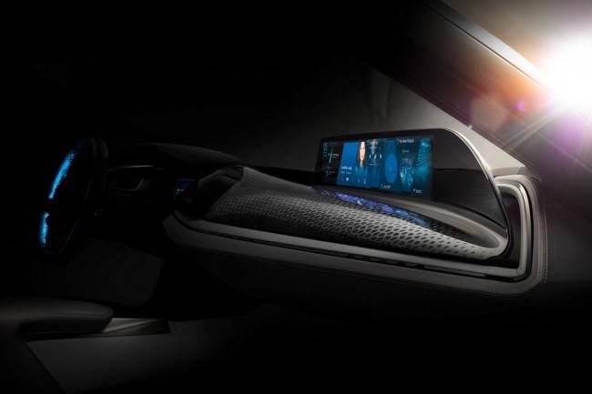 Фото салон BMW Vision Car Concept 2016
